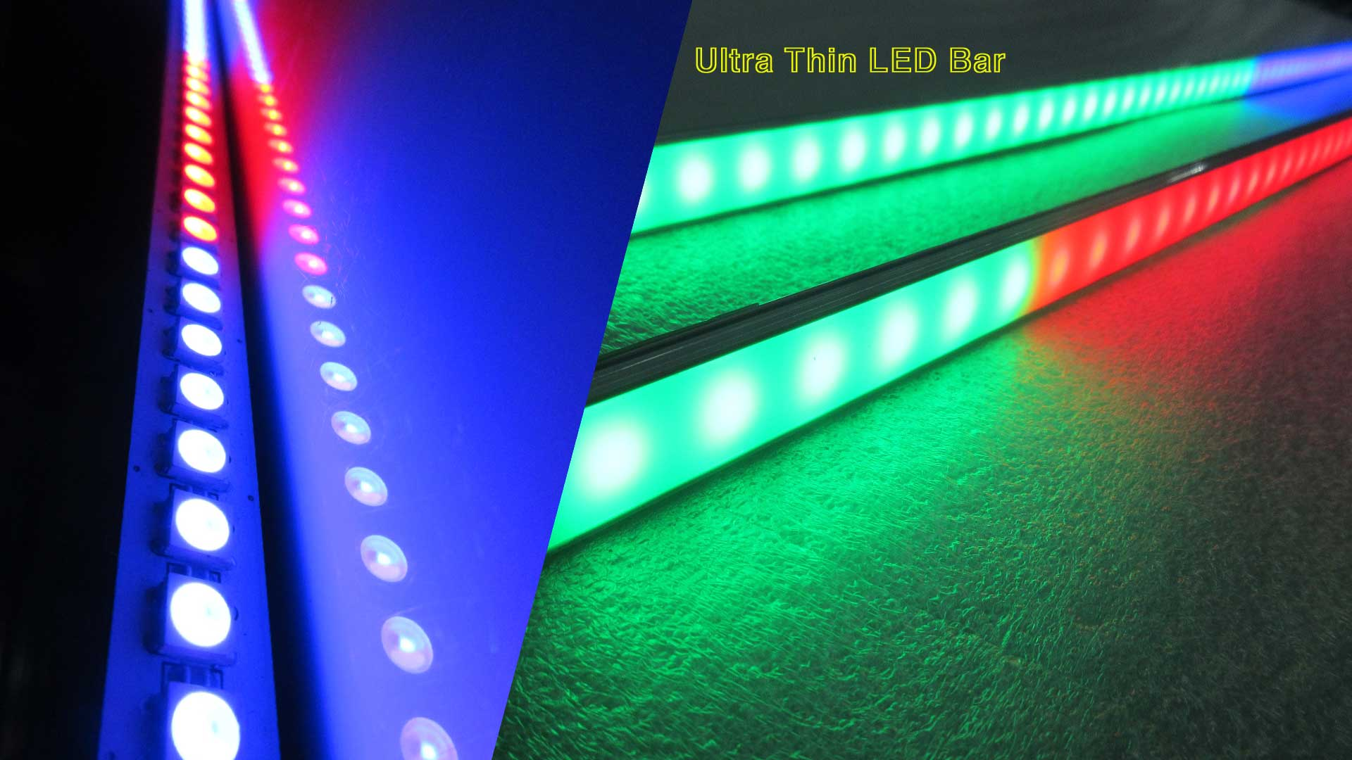 Utra Thin Full Color Digital LED Bar