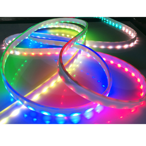 Digital rgb side emitting led strip